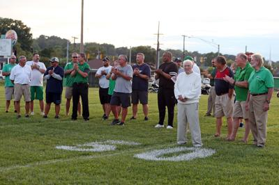 Community Members Honor Coach Ward at the Field's Reopening