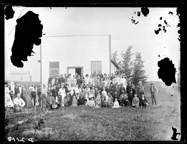 A picnic at the Bottling Works, New Helena, abt. 1889