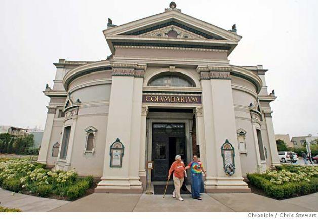 External view of the San Francisco Columbarium, Harvey Milk Memorial site