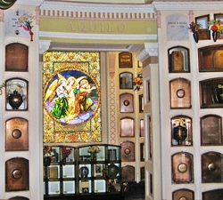 additional stained glass, The San Francisco Columbarium