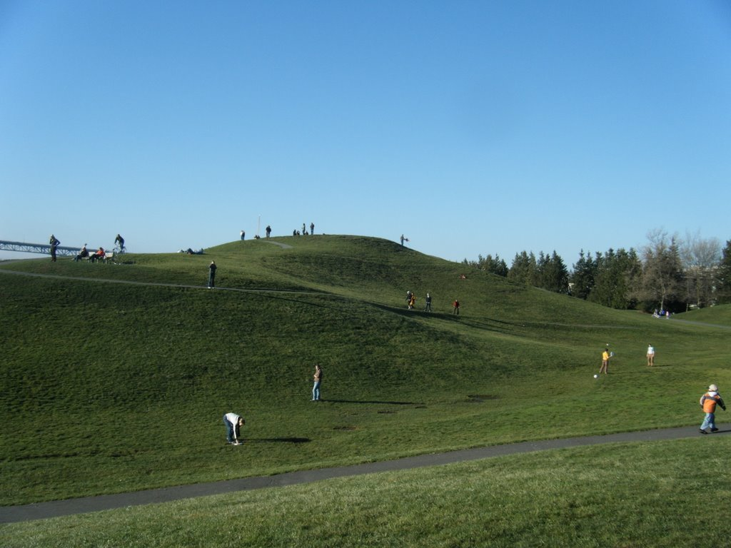 Kite Hill, was built over a pile of toxic waste and covered with clay.