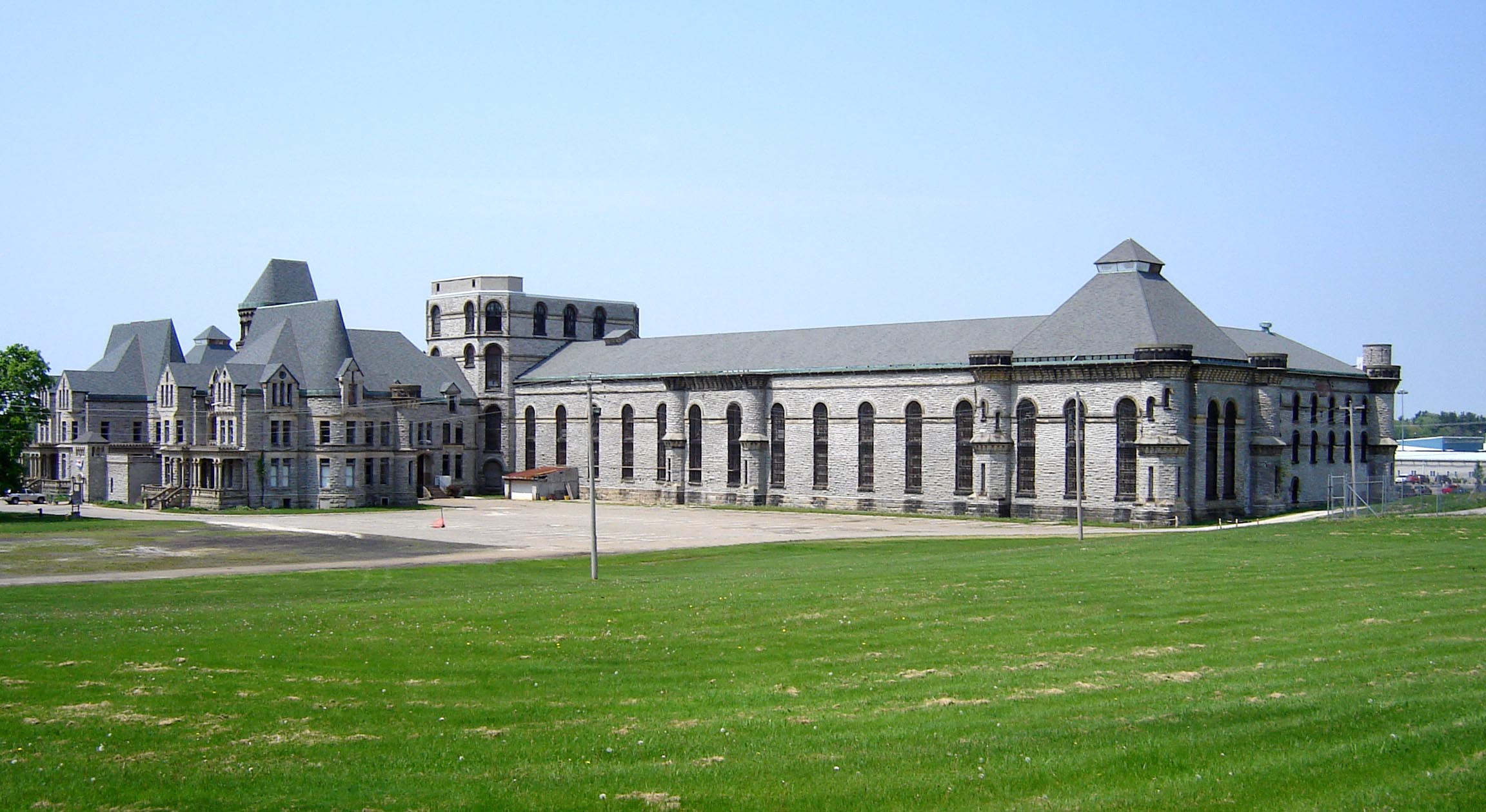 The exterior of the Ohio State Reformatory