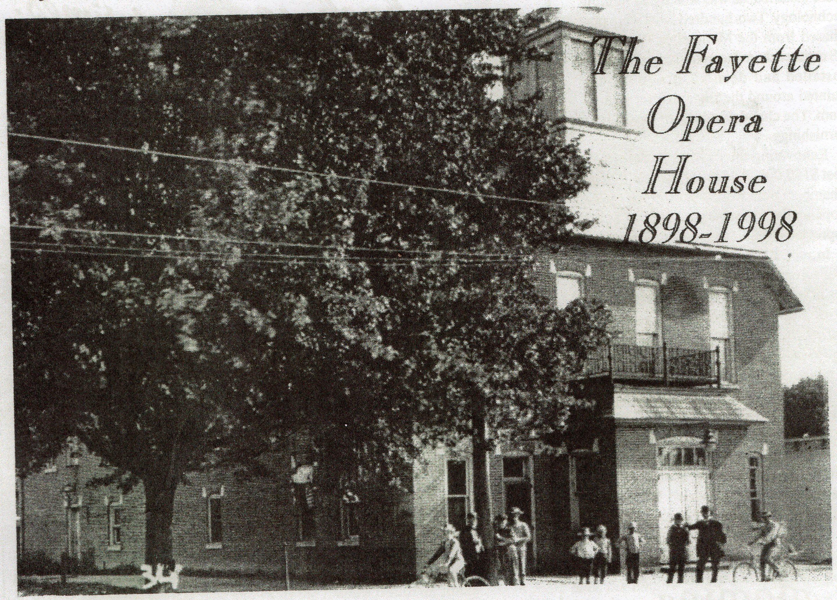 Exterior of Fayette Opera House (Mitton, 31)