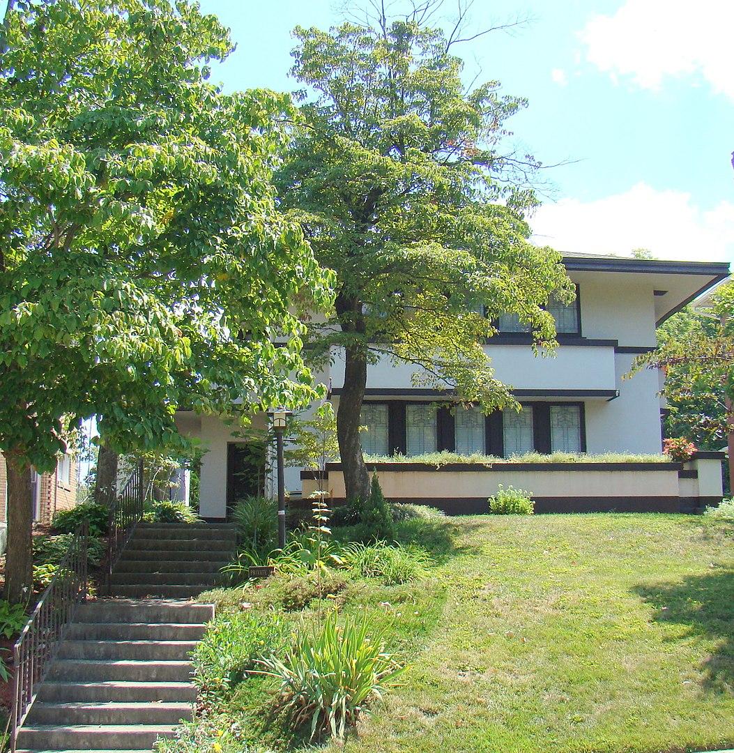 Ziegler House designed by Frank Lloyd Wright