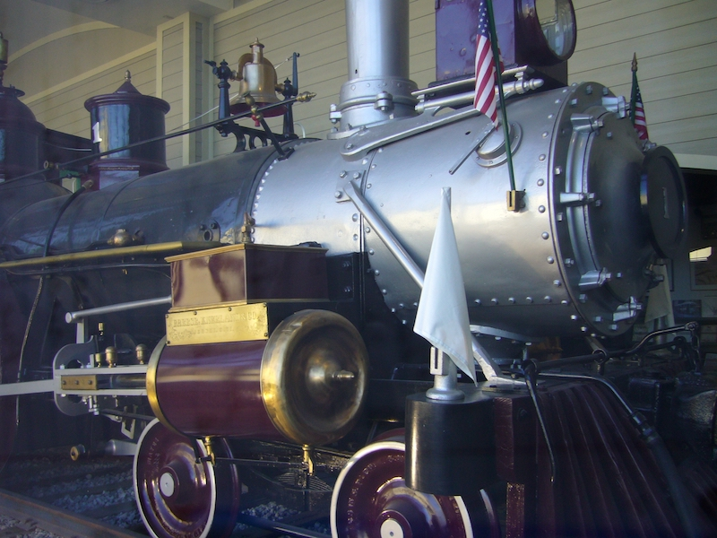 Built in 1857, Locomotive No. 1 is one of the few remaining of its kind.