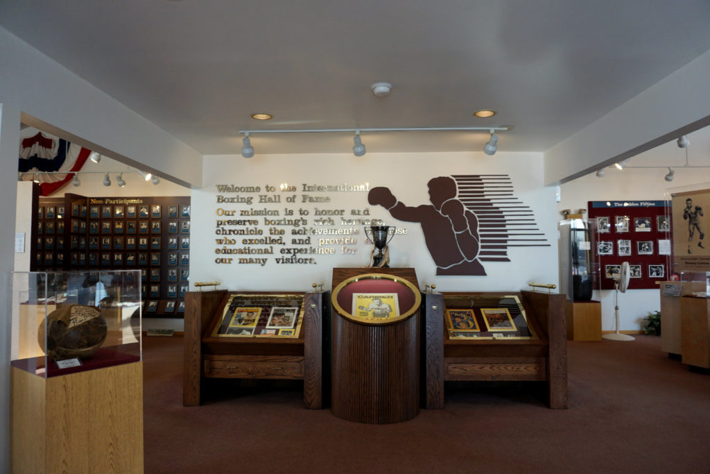 Entrance of the IBHOF