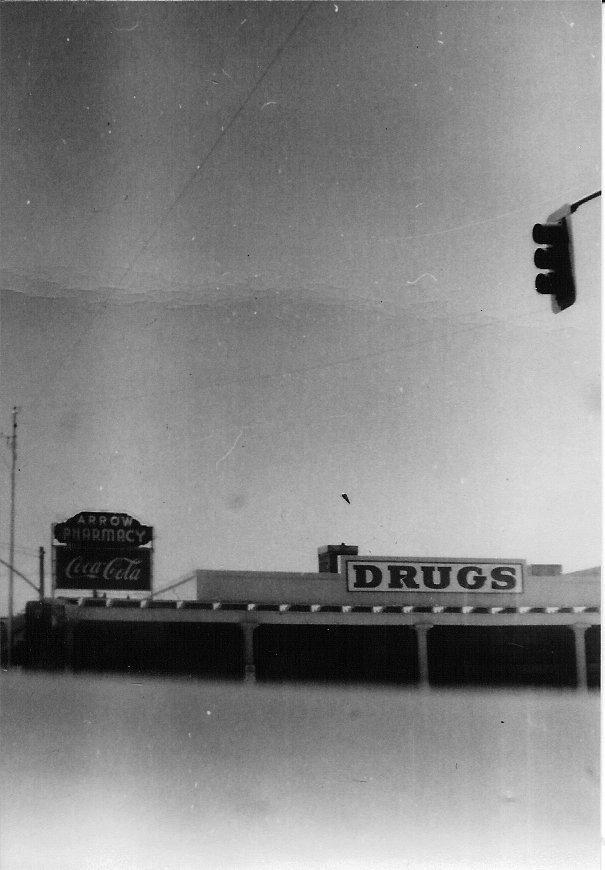 Arrow Pharmacy Signs, 1957