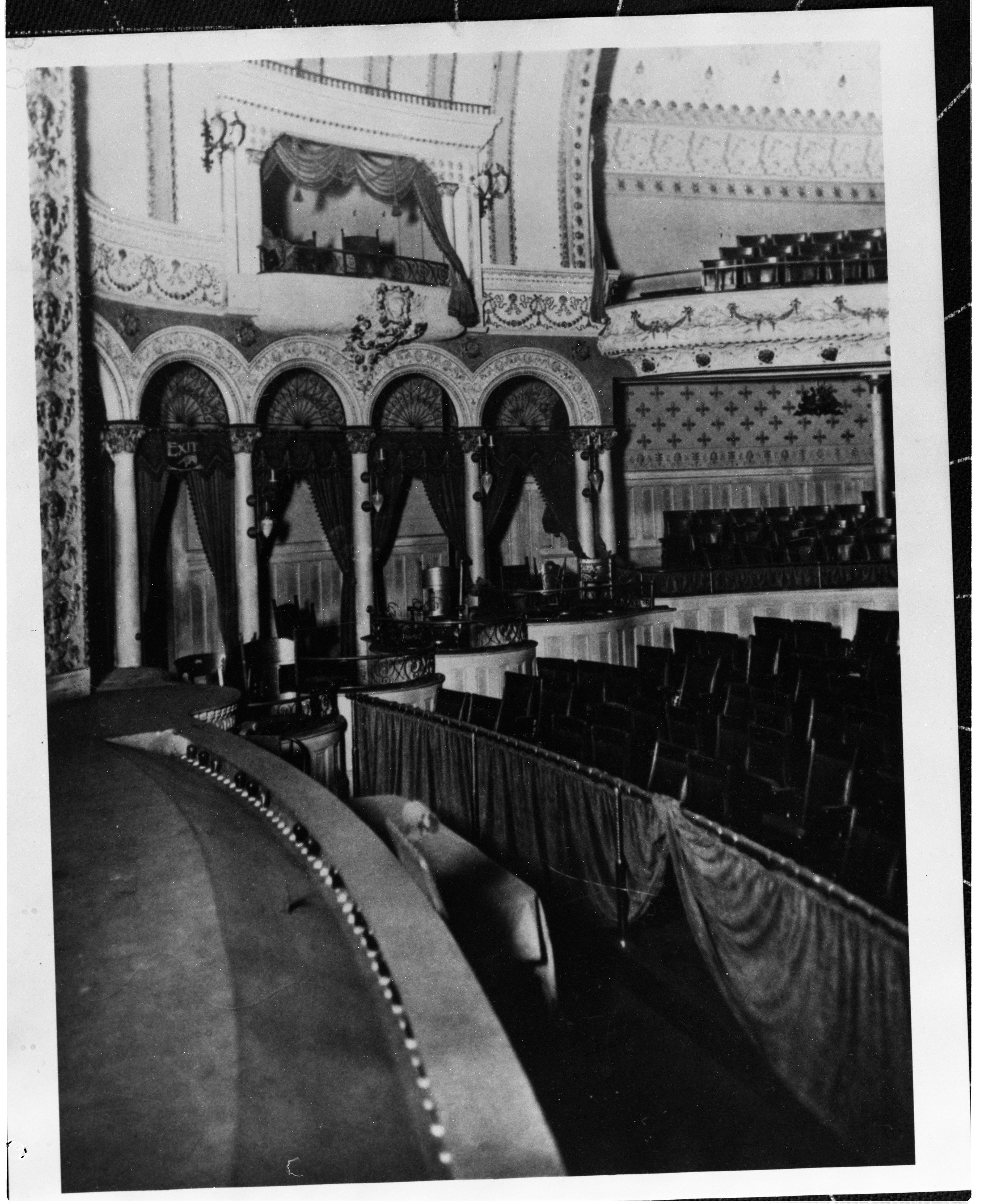 The grand Ingomar Theater, once housed inside the Carson Block Building