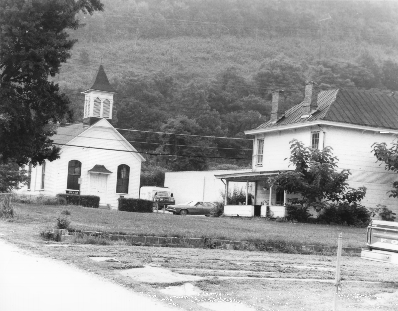 African Zion Baptist Church and 4103 Malden Drive, 1979
