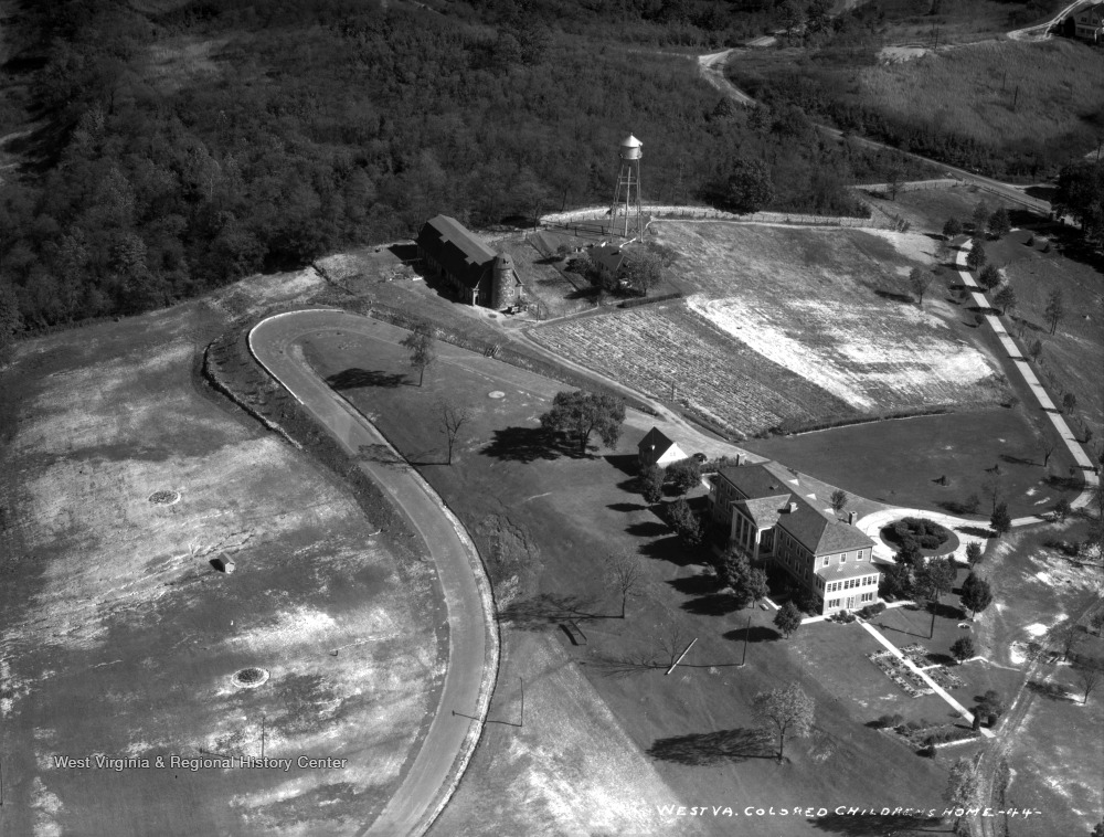 Aerial View of West Virginia Colored Children's Home