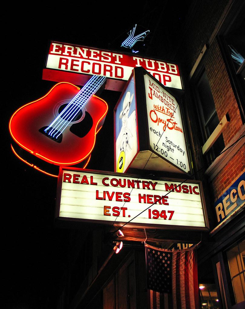 The Ernest Tubb Record Shop, Est. 1947