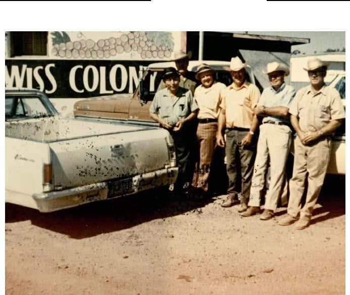 Chope's Weekly Coffee Club (circa mid-1960s)