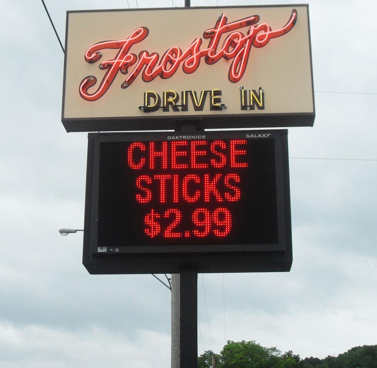 The Frostop sign today