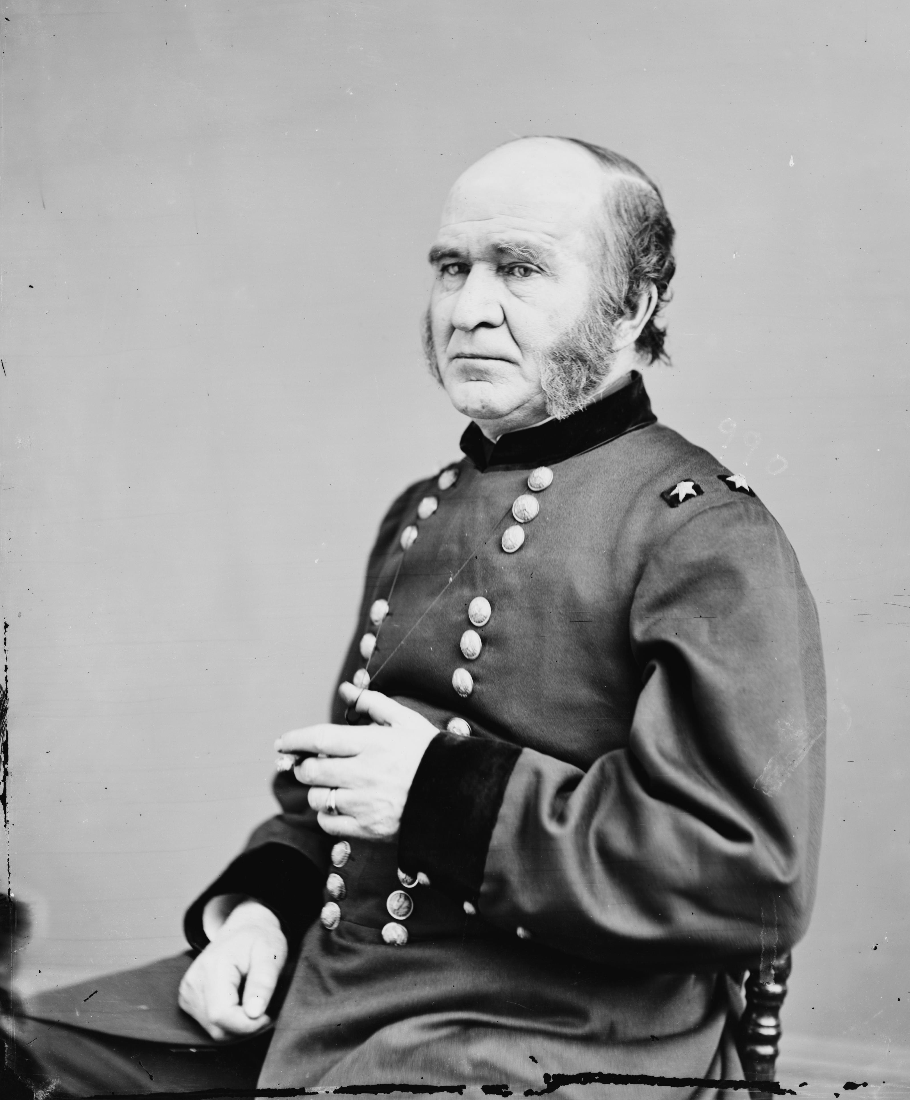 General Benjamin S. Roberts, Federal commander during the Jones-Imboden raid.