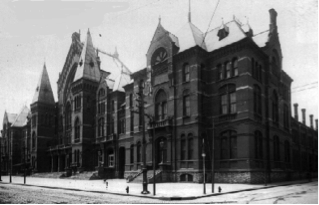 Early photo of the Music Hall