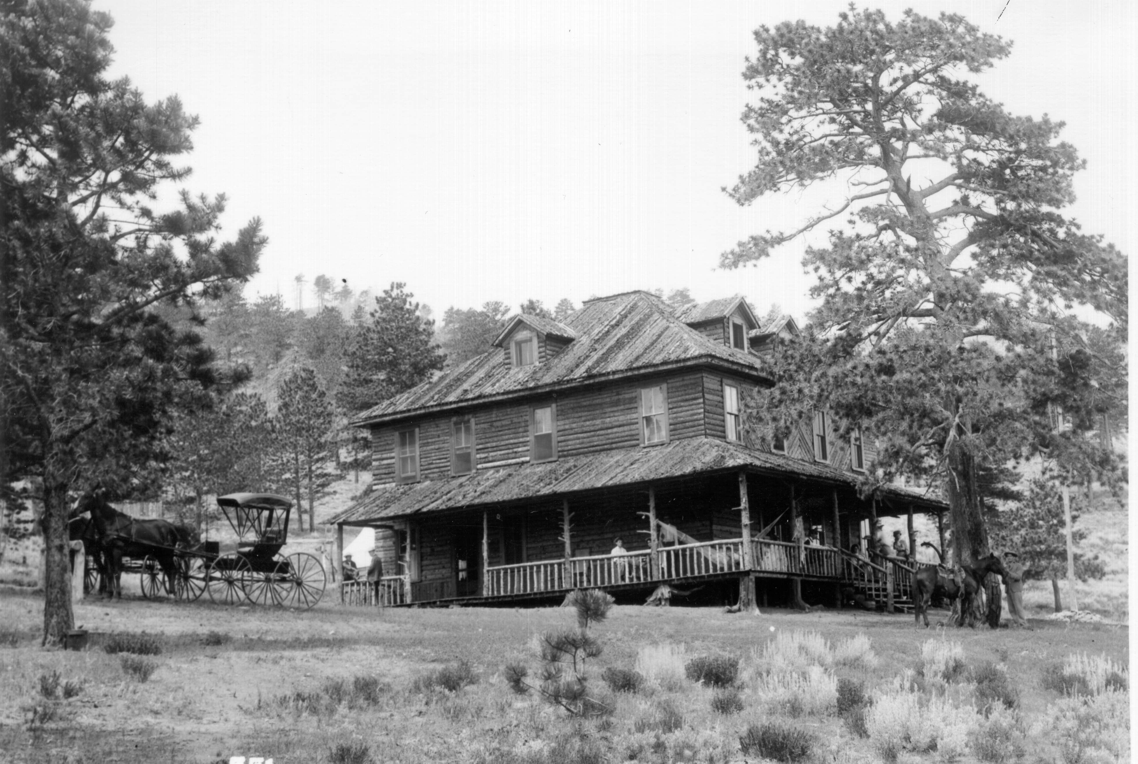 Original Wind River Lodge- Early 1900s