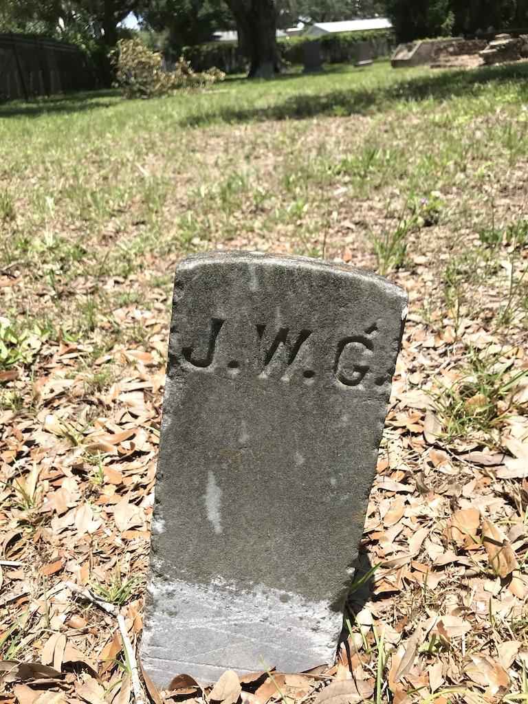 John W. Gates Footstone