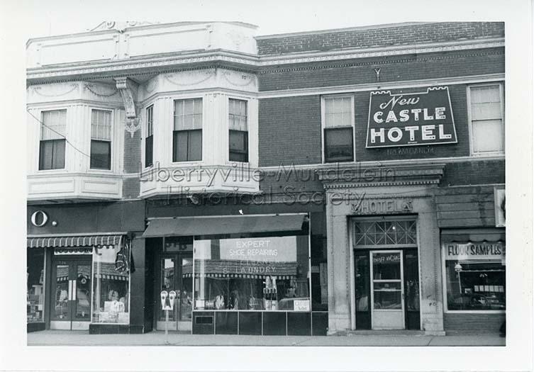 New Castle Hotel, circa 1974-1976