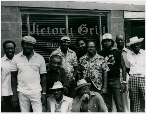 Musicians came together for a reunion concert at Victory Grill in 1987