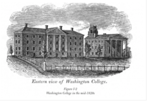 Washington College's Original Structure