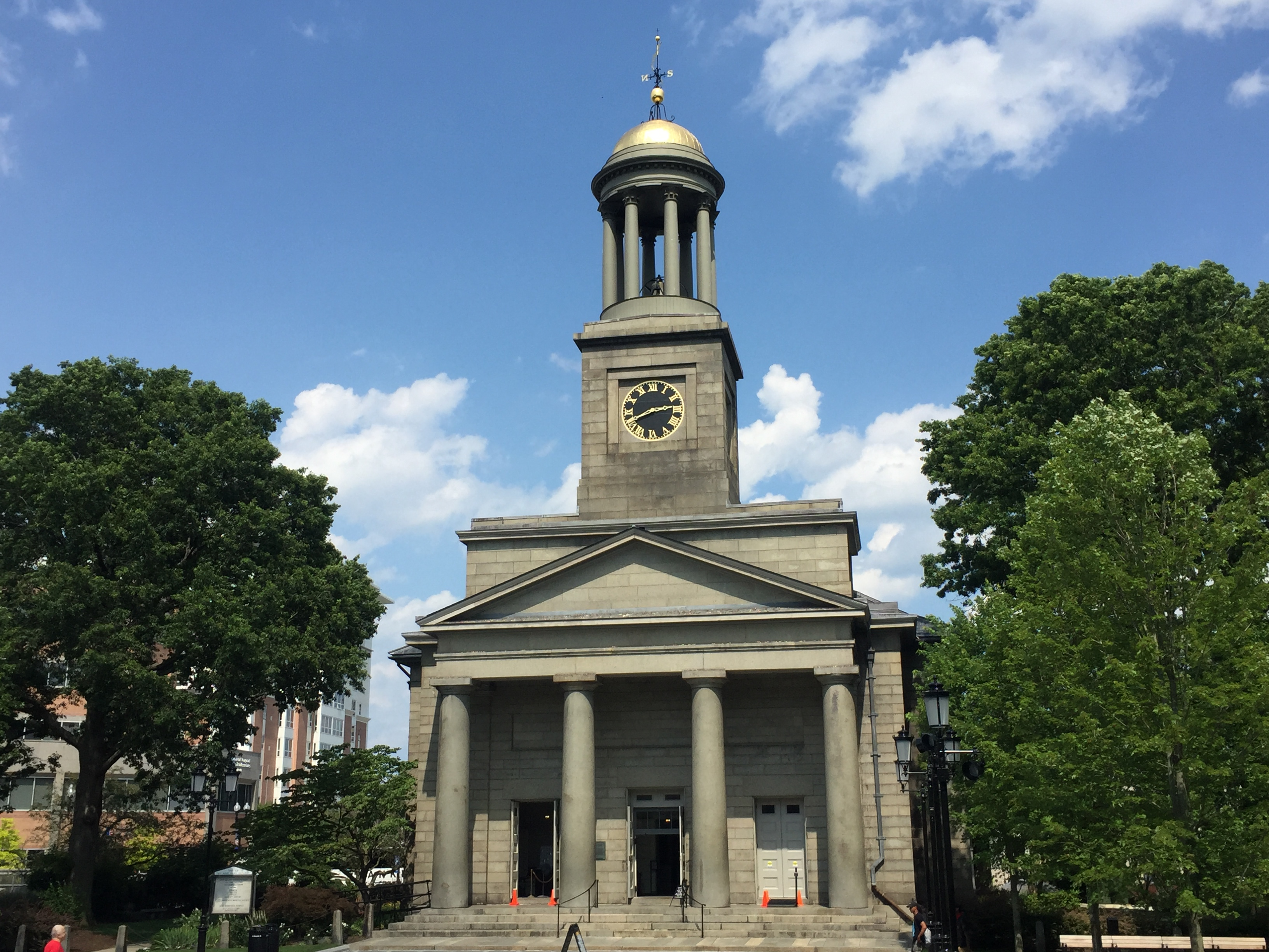 The United First Parish Church, aka the Church of the Presidents