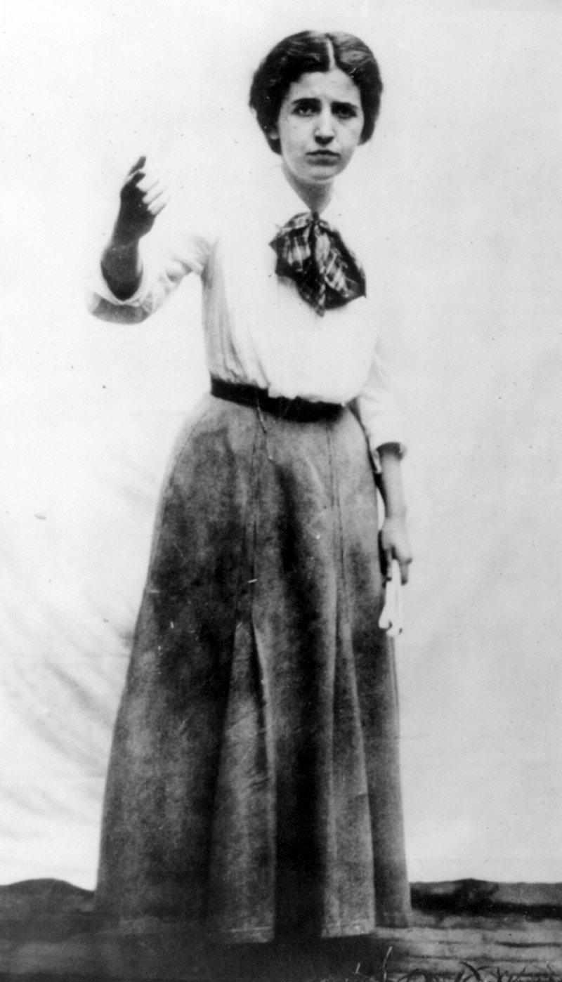 Elizabeth Gurley Flynn, around 1920.