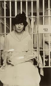 Lucy Burns at Occoquan Workhouse, 1917