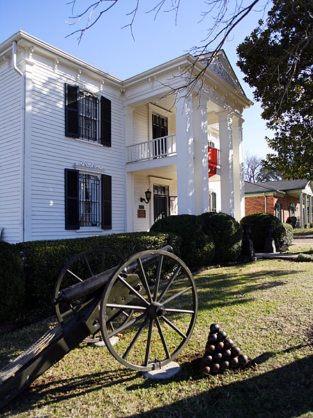 Johann Albert Lotz built this historic home in 1858. In November 1864, one of the Civil War's most bloody battles took place in Franklin and the Lotz home was right in the thick of it.