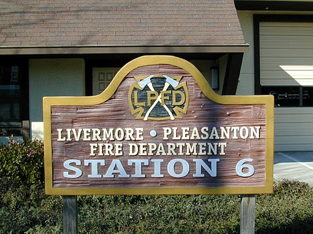 This sign will greet you and let you know you have arrived at Fire Station #6, the home of the longest burning light bulb!