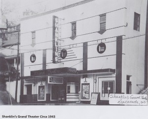 Shanklin's Grand Theater 1943