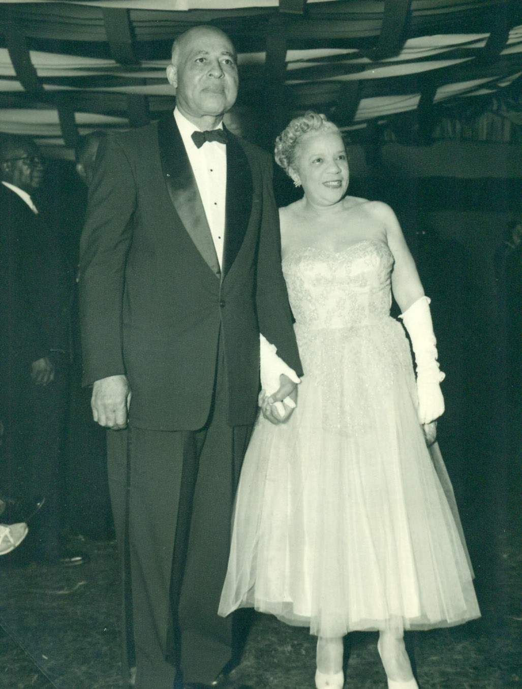 Shanklin's architect John C. Norman, Sr. and his wife Ruth Norman