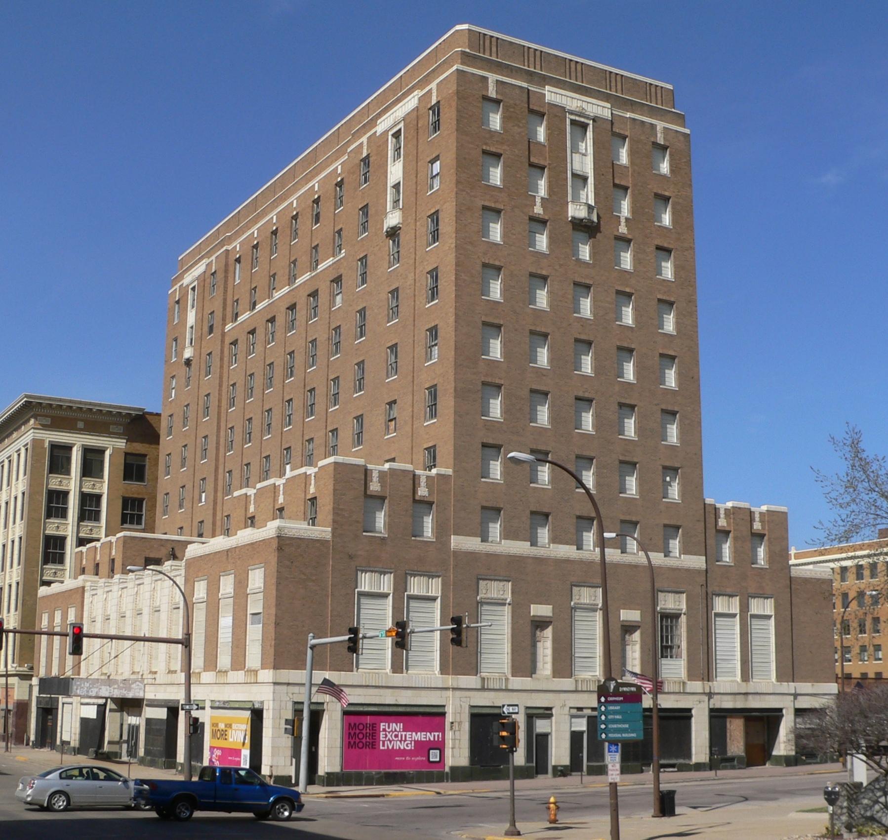 Warrior Hotel, photo taken in 2012.