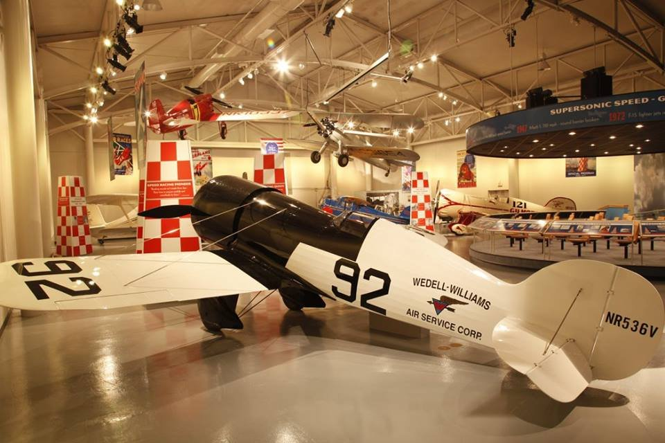 State-of-the-art displays include numerous aircraft, such as the famous Miss Patterson #44 and the Gilmore #121. Also on display are Wedell-Williams' 1930s air racing trophies and memorabilia. Credit: Wedell-Williams Aviation & Cypress Sawmill Museum
