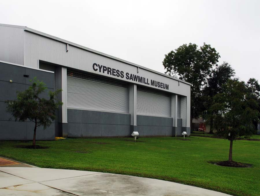 Cypress Sawmill Museum, Patterson, LA. Oct 2009. Credit: Arthur Taissig