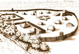 A sketch of the entire Indian mound