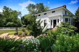 This Greek Revival home was best-known as the summer home of Michigan U.S. Senator Charles Stuart