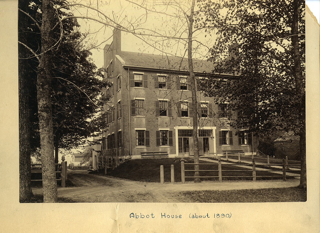 Double Brick House, 1890