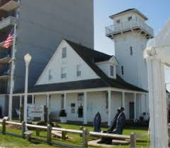 Front view of the Old Coast Guard Station