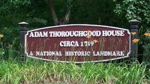 The Historical Landmark Entrance Plaque