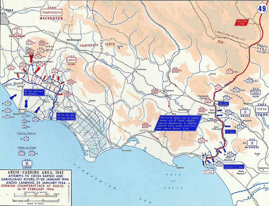 Battle of Anzio 1944