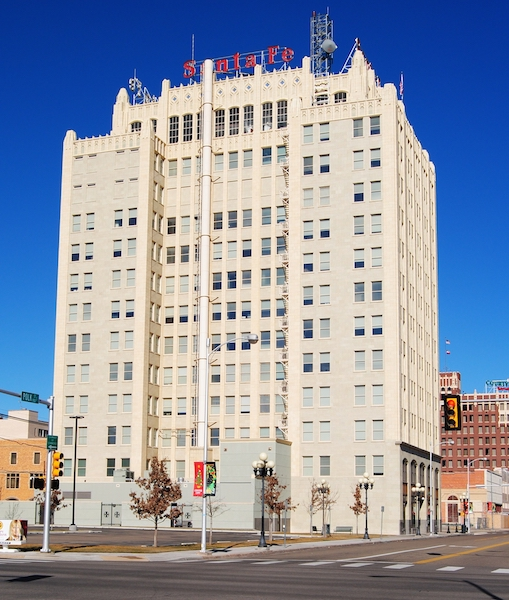 The Santa Fe Building was built in 1930 and was the city's tallest building for many decades.