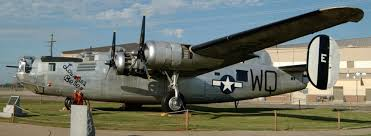 The museum includes static displays of aircraft used by the Eighth Air Force.
