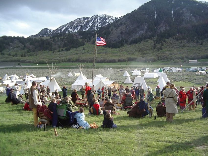Mountain Man Rendezvous Event