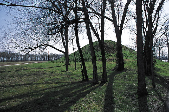 Mound at Toltec Park Mound A