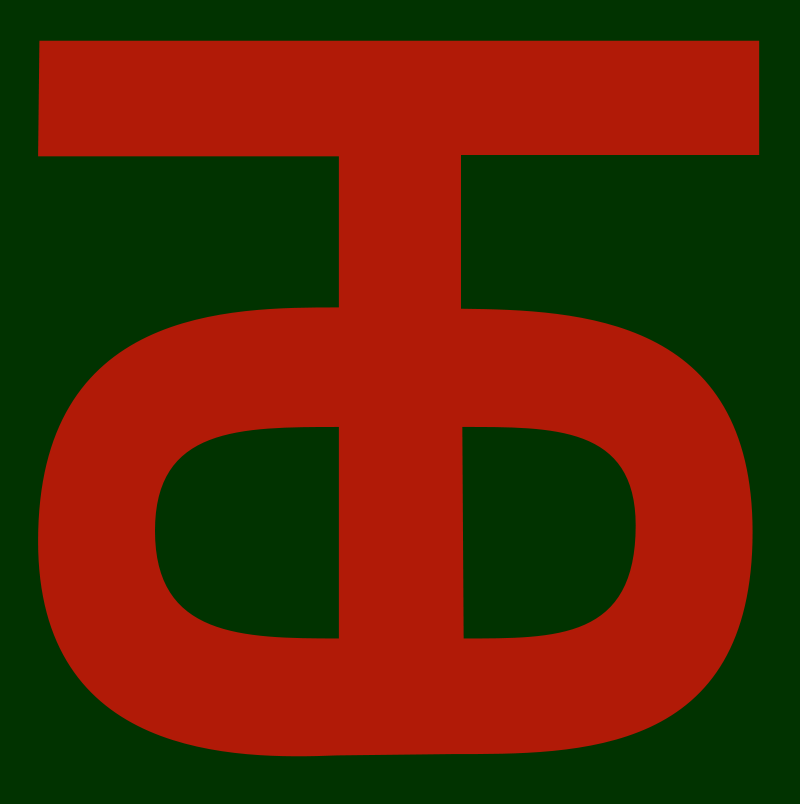 90th Infantry Division Insignia