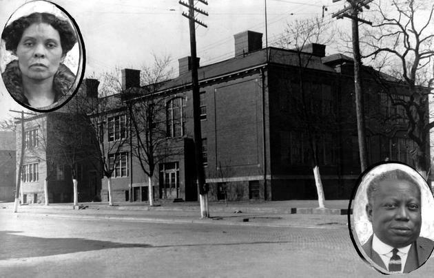 Barnett Elementary, circa 1926