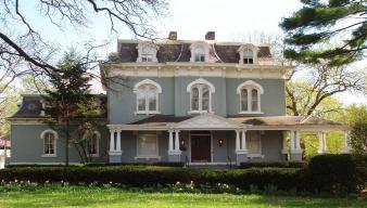 The Pettengill - Morron Mansion (Peoria, IL), built in 1868.
