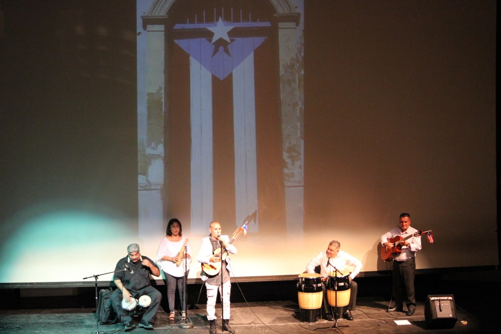 Gabriel Muñoz & Melodías Borinqueñas amazing performance at the Forum Theatre Cultural Arts Center Saturday, September 22.