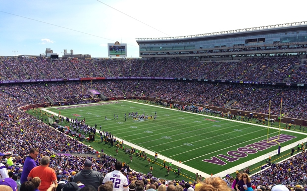 TCF Bank Stadium Minnesota Vikings