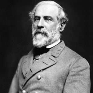 General Robert E Lee led the Confederate Army during the Civil War.
